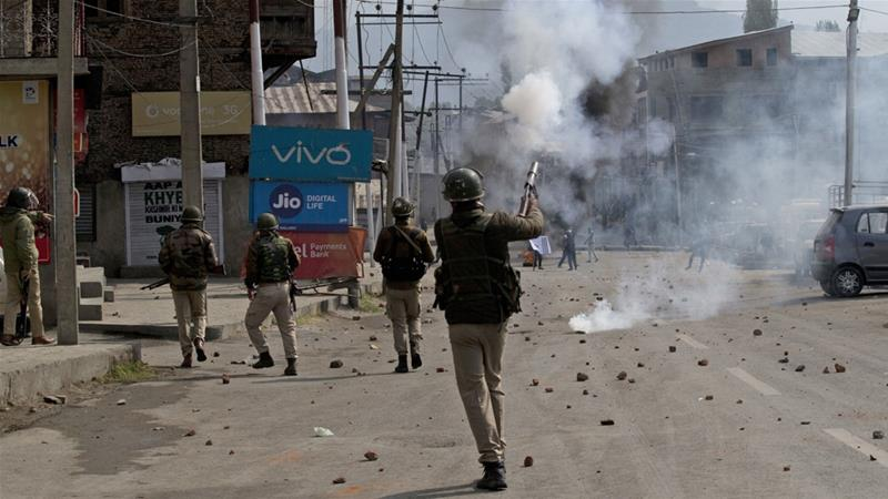 Fresh clashes in Kashmir after four killed in gunfight