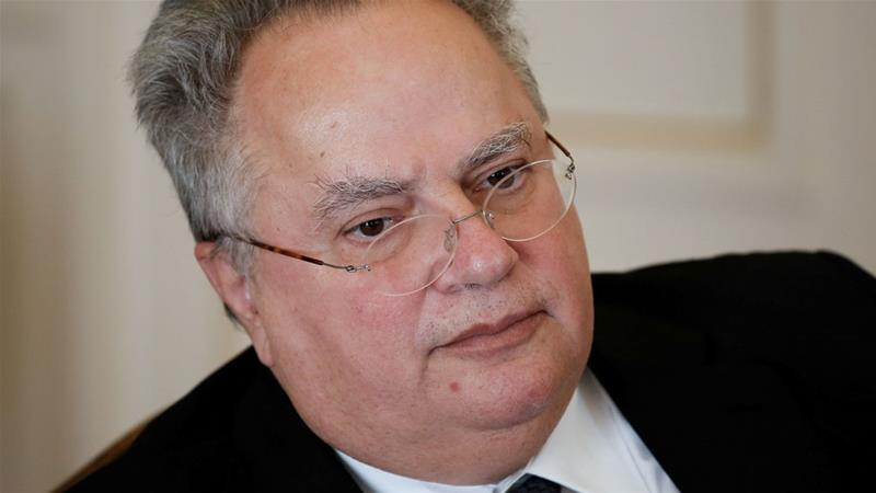 Nikos Kotzias's resignation comes amid growing instability in Greece's governing coalition [Reuters]