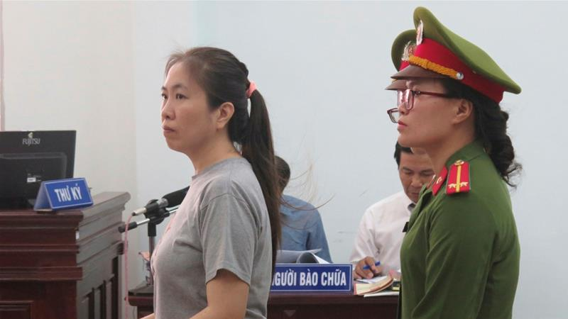 Quynh, one of Vietnam's most prominent dissidents, was serving a 10-year-sentence for anti-state propaganda [AP]