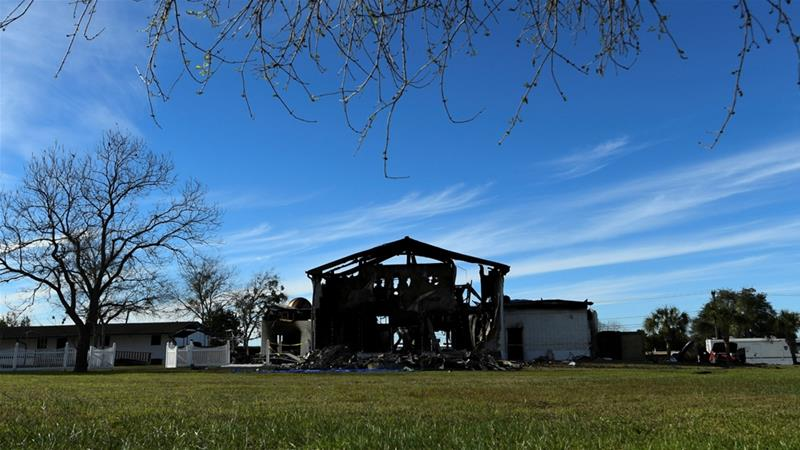 Arsonist gets 24 years in jail for Texas mosque fire