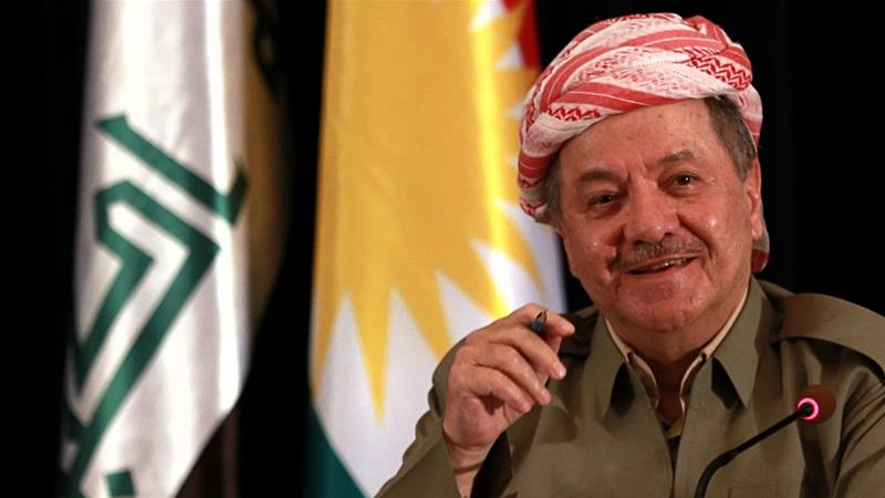 Masoud Barzani's KDP came first in Iraq's Kurdish regional elections but opposition parties rejected the result [AP Photo/Khalid Mohammed]