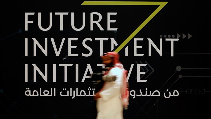 Dozens of business leaders and diplomats have withdrawn from the Saudi economic conference