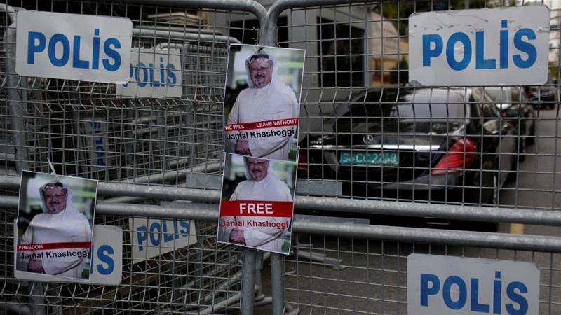 Forest searched in hunt for Jamal Khashoggi's body