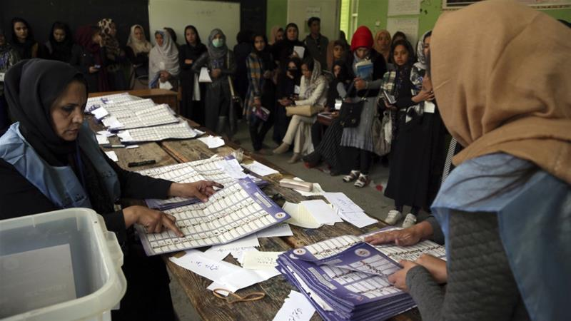 Polls close in Afghanistan's long-delayed parliamentary elections