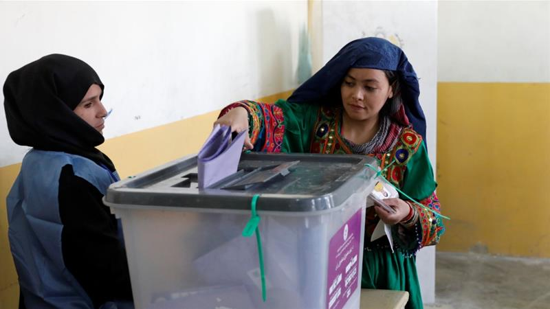 Polls were originally set to be held in early 2015 following presidential elections in 2014, but were delayed [Mohammad Ismail/Reuters]