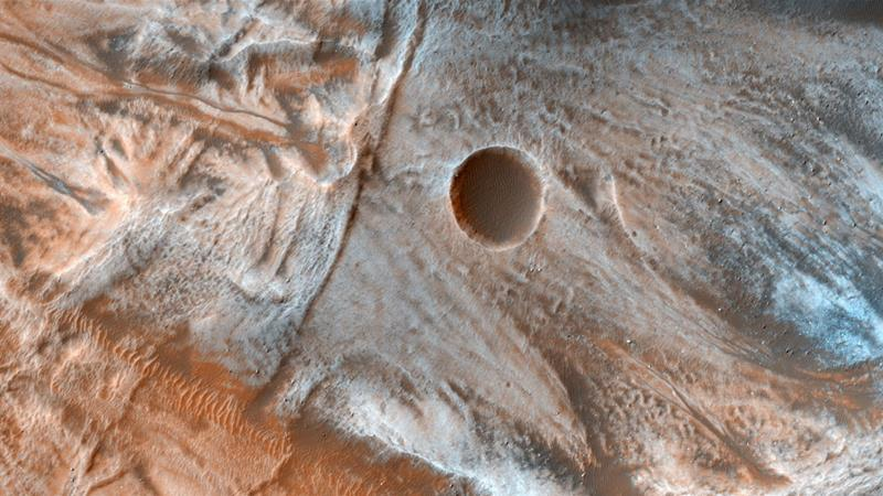 Mars may have enough oxygen underneath its surface for life