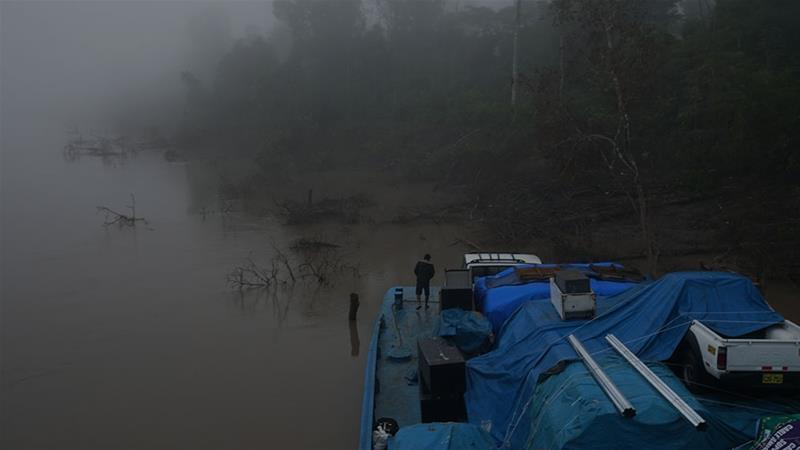 Peru's natives say Amazon Waterway Project threatens food sources