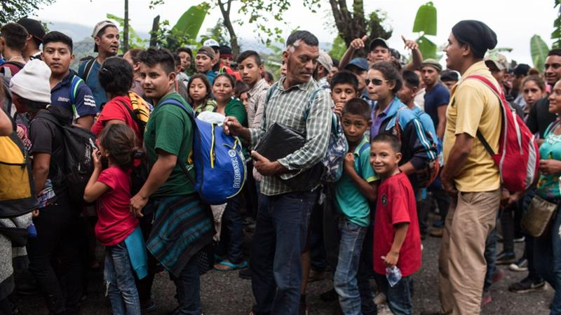 Hondurans continue to leave for US as Trump ramps up threats