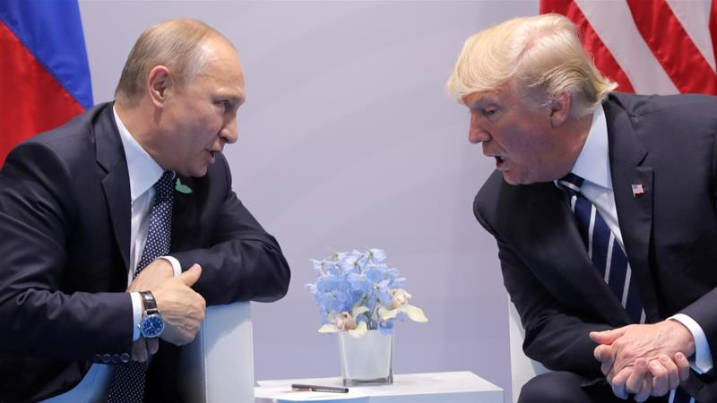 Donald Trump blamed Russian violations of INF treaty for his decision