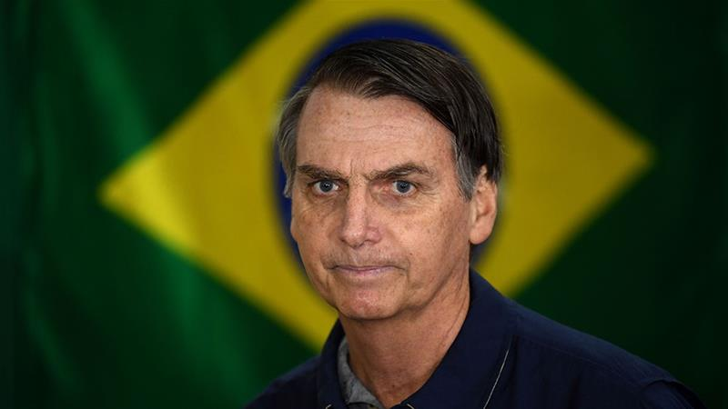 Brazilian poll shows diminished gap between leading candidate Bolsonaro, rival Haddad