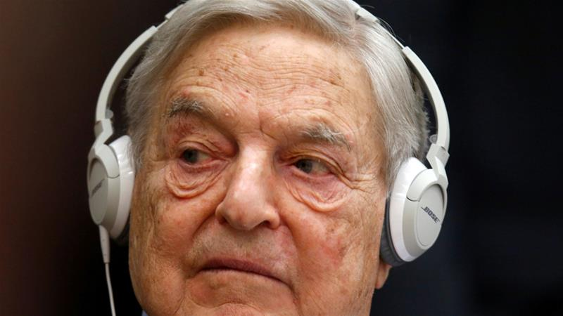Soros, one of the biggest donors to liberal groups, is a hate figure for right-wing campaigners in US and Eastern Europe [File: Reuters]