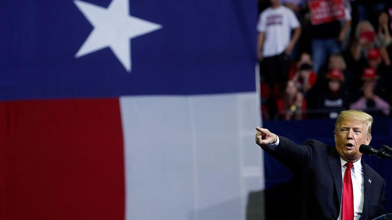 In Texas, Trump speech takes far-right turn: 'I'm a nationalist.'