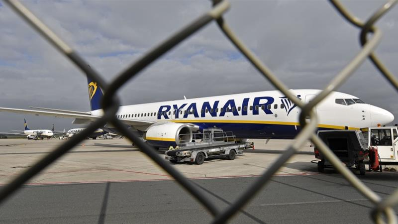 Ryanair has been criticised for not removing the racist passenger [Martin Meissner/AP Photo]