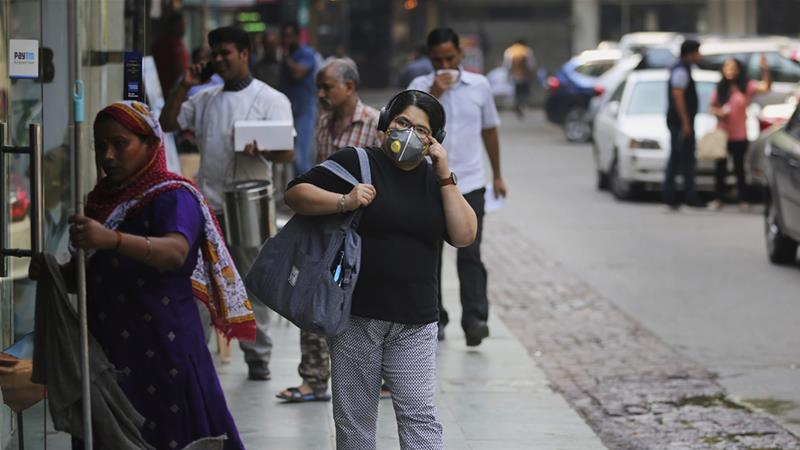 Authorities issue advisory as air pollution worsens in Indian capital