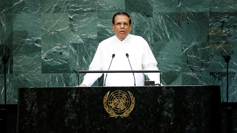 Sri Lanka president suspends parliament