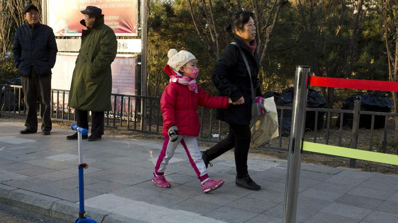 There has been a series of knife attacks in recent years in China, many targeting children [Ng Han Guan/AP]