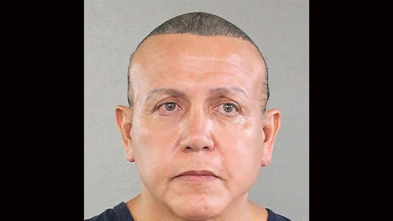 Suspect who mailed pipe bombs to Trump critics pleads guilty