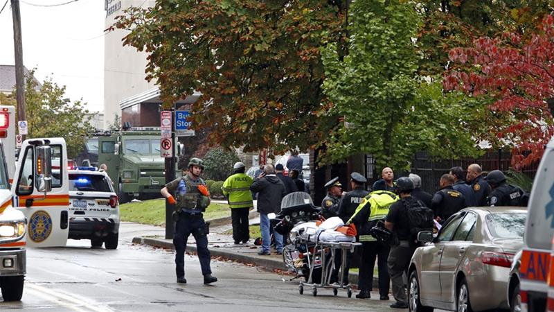 Suspect in custody after deadly Pittsburgh synagogue shooting