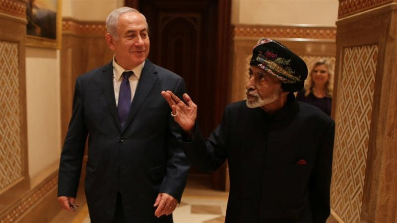 Netanyahu's visit to Oman marked the first visit by an Israeli leader to the sultanate in over two decades [Reuters]