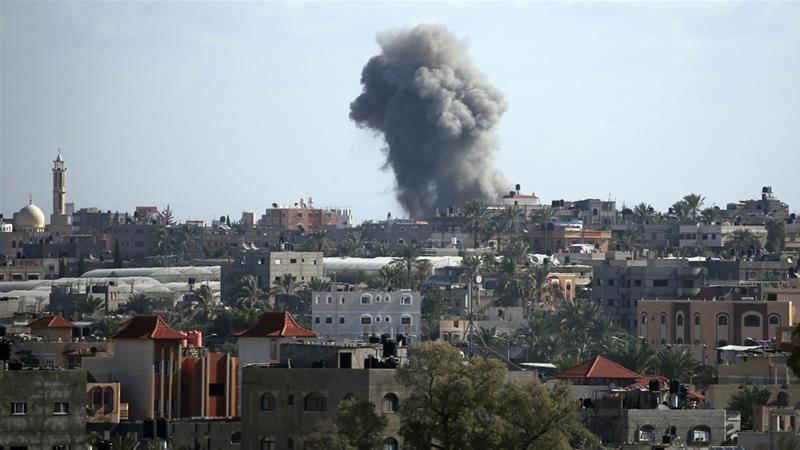 Izrael szerint Szíria áll a legújabb palesztin rakétatámadások mögött
