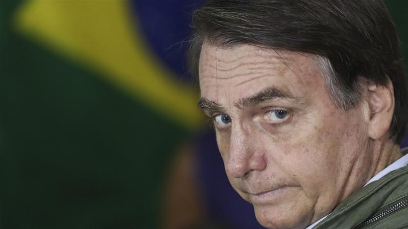 Bolsonaro, a former army captain and longtime congressman, said during his presidential campaign that he would stop making what he calls concessions to native Brazilians [File: Ricardo Moraes/AP Photo]