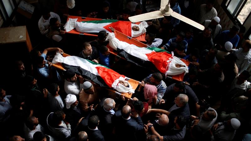At least 218 Palestinians have been killed in protests in Gaza since March [Mohammed Salem/Reuters]