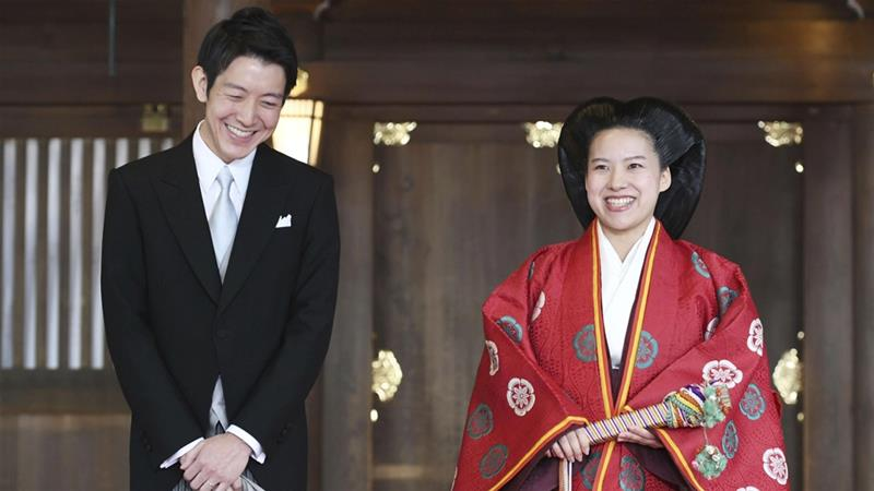 Japanese royals have had the freedom to marry whomever they choose for at least three generations [Kyodo via Reuters]