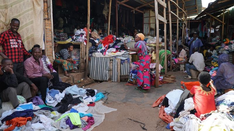 bd101fb75 At least 20 percent of second-hand clothes in Rwanda come from the US [
