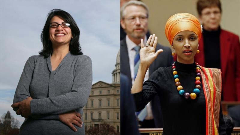Ilhan Omar and Rashida Tlaib are set to become the first Muslim women elected to the US Congress