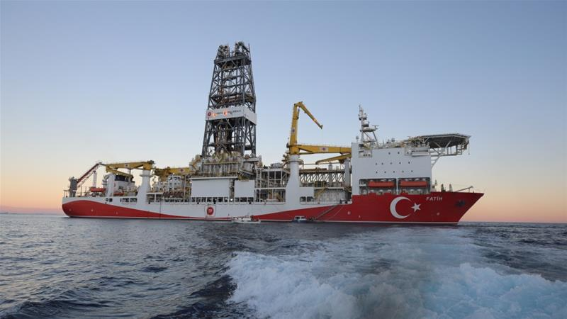 The first borehole for the 'Fatih' ship will be some distance from the disputed areas around the island of Cyprus [Reuters]
