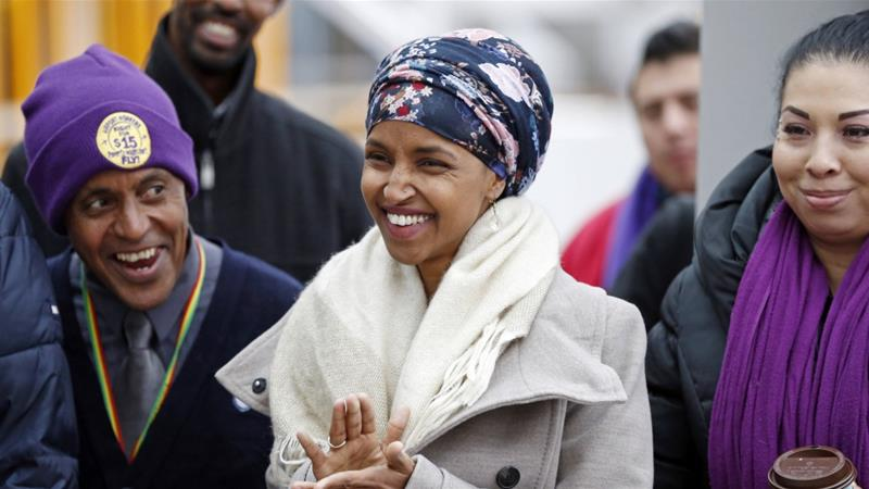 Ilhan Omar is expected to become the first Somali-American congresswoman [Jim Mone/AP Photo]