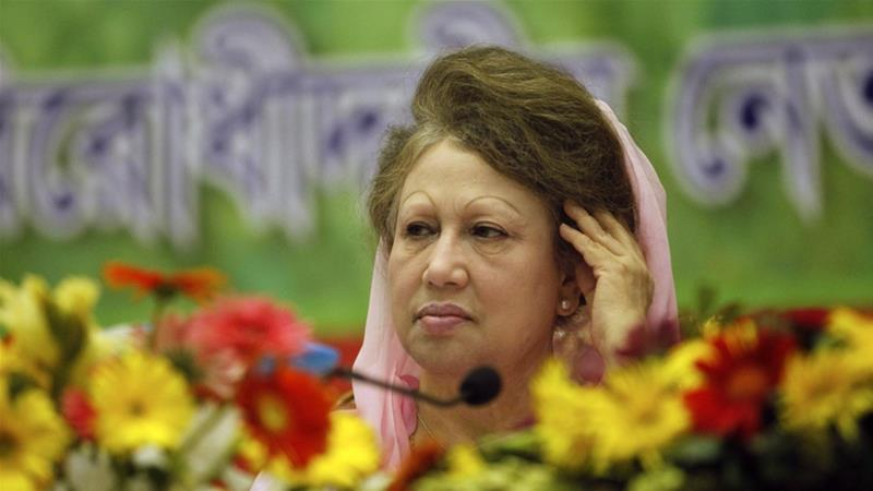 Ex-Bangladesh PM barred from contesting this month's election