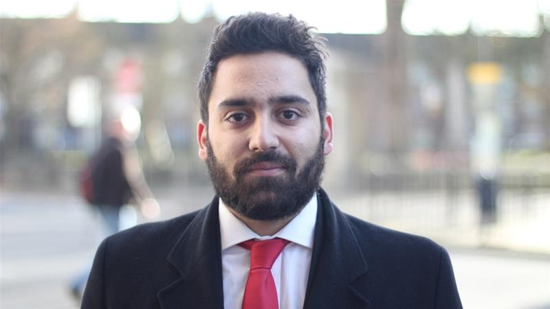 Ali Milani moved to the UK from Iran when he was three years old and is now hoping to gain a parliamentary seat [Courtesy: Ali Milani]