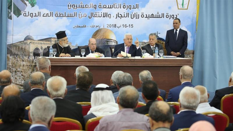 Top Palestinian body calls for suspension of Israel recognition