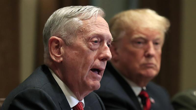 Mattis said he believes US' allies Saudi Arabia and the UAE are ready for talks [Manuel Balce Ceneta/AP]