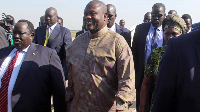South Sudan rebel leader Machar arrives in capital, first time since 2016