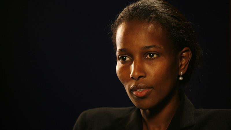 Ayaan Hirsi Ali has been a supporter of the Trump administration, writes Kanji [File: AP Photo/Shiho Fukada]