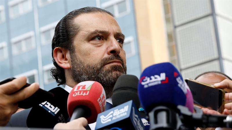 Hariri told MTV he is 'willing to give everyone seats from my share for the sake of the country' [Bas Czerwinski/Reuters]