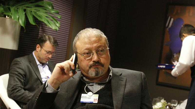 Khashoggi has been living in self-imposed exile in the United States since 2017 [File: Virginia Mayo/AP]