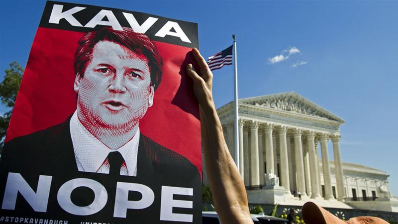Could the Kavanaugh controversy affect the US midterm elections?
