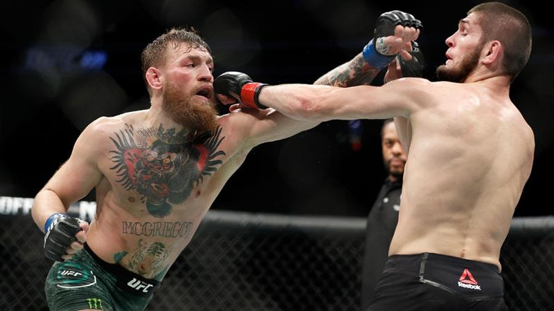 Khabib on UFC McGregor brawl: 'He talked about my religion'