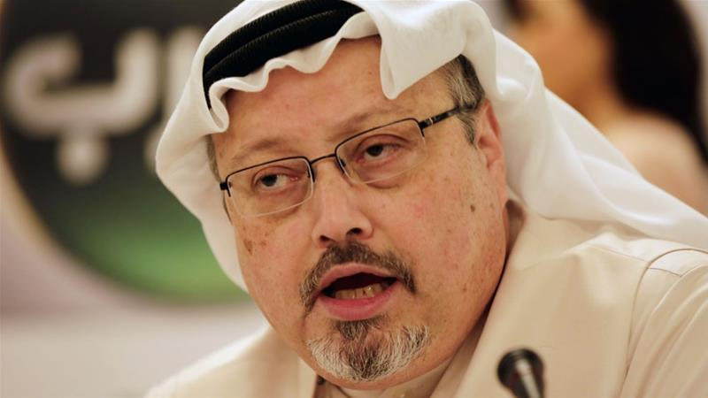 Khashoggi went missing on October 2 after entering the Saudi consulate in Istanbul [Hasan Jamali/AP]