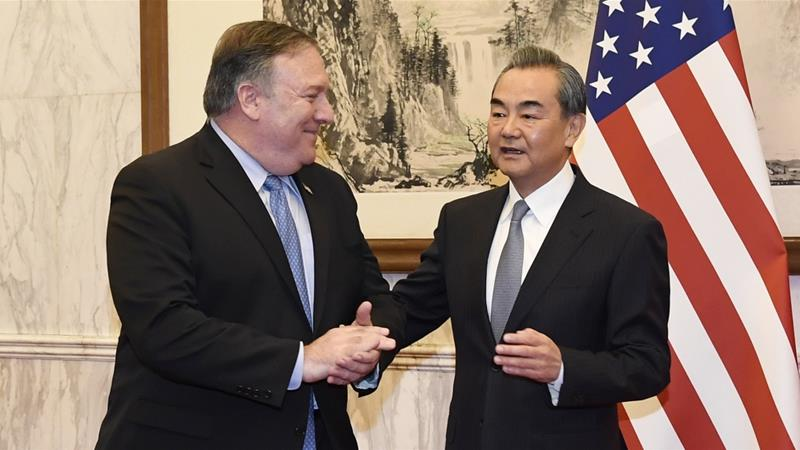 Pompeo wrapped up his three-day East Asia tour in Beijing on Monday [Daisuke Suzuki /Pool/Getty Images]
