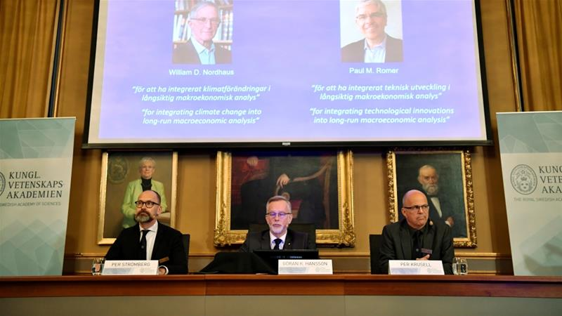 US Economists awarded Nobel Prize