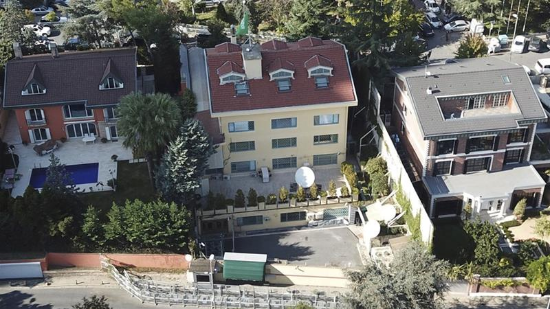 Saudi writer Jamal Khashoggi disappeared after visiting the consulate in Istanbul on October 2 [DHA via AP]