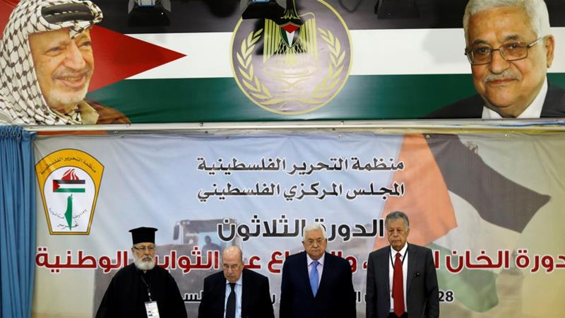 On October 30, The PCC said  the PLO and the Palestinian Authority will suspend the recognition and end security coordination with Israel [Reuters]