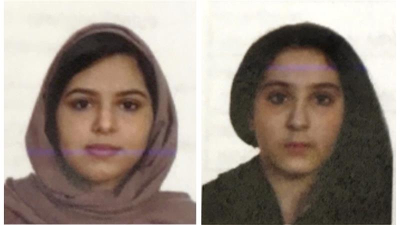 United States  police: Saudi sisters didn't want to return home