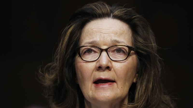 Haspel did not take part in last week's briefing by Pompeo and Mattis [Reuters]