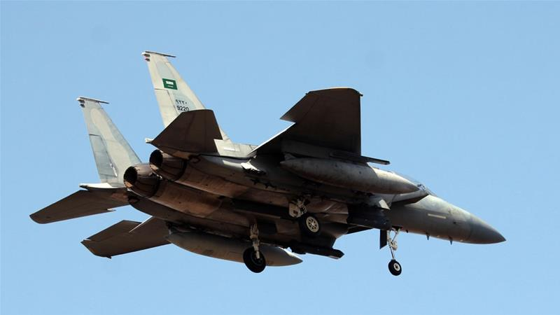 According to the UN, at least 10,000 people have been killed since the coalition entered the conflict [AP photo]