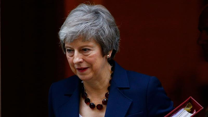 May defended the agreement to a group of MPs from her own Conservative party ahead of a meeting with her cabinet